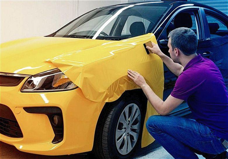 Замена цвета авто стоимость оформления