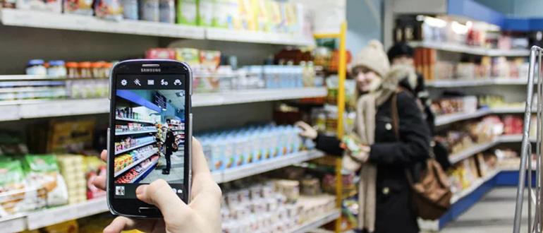 Закон российской федерации о съемке в магазине
