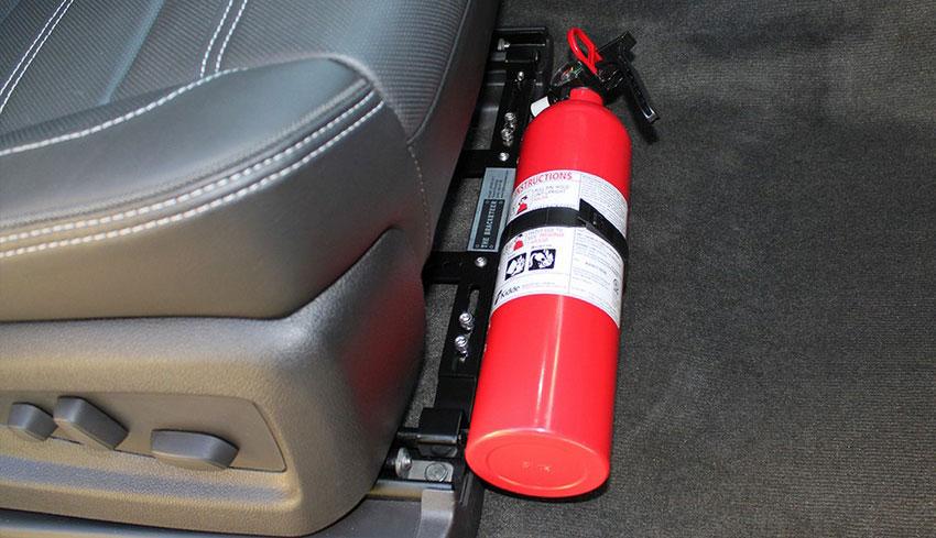 Какие огнетушители разрешены для легковых автомобилей