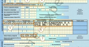 Список документов для компенсациирасходов по больничному листу